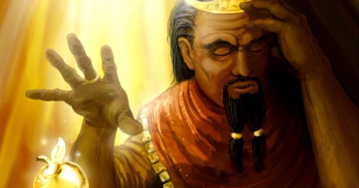 Το άγγιγμα του Μίδα (Εικόνα: King Midas by lifebytes)
