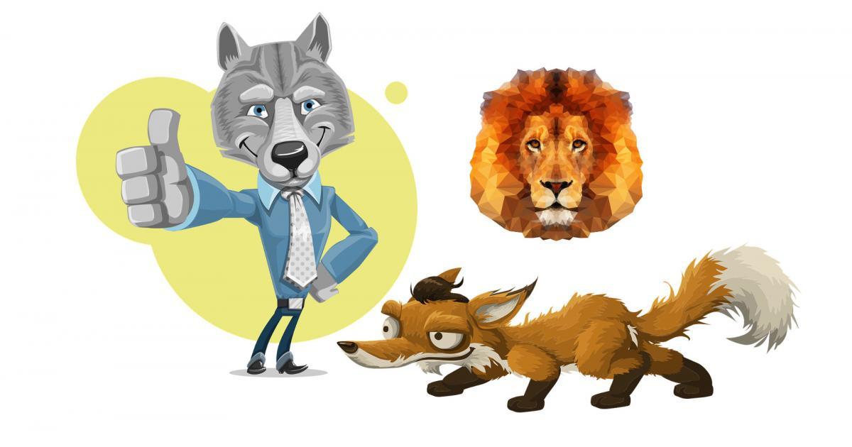 Αίσωπος: Η πονηρή αλεπού και το πάθημα του κατεργάρη λύκου