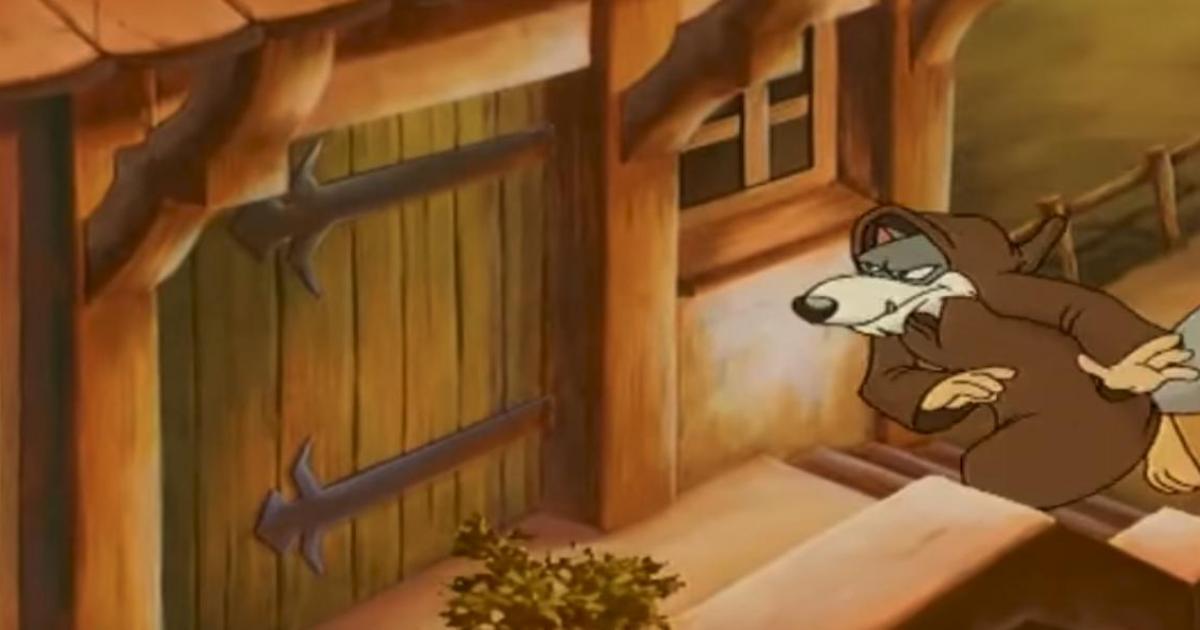 Ο λύκος και τα επτά κατσικάκια