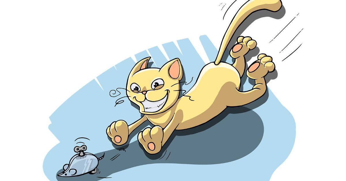 Παραμύθι: Ο γάτος και τα ποντίκια (Αίσωπος)