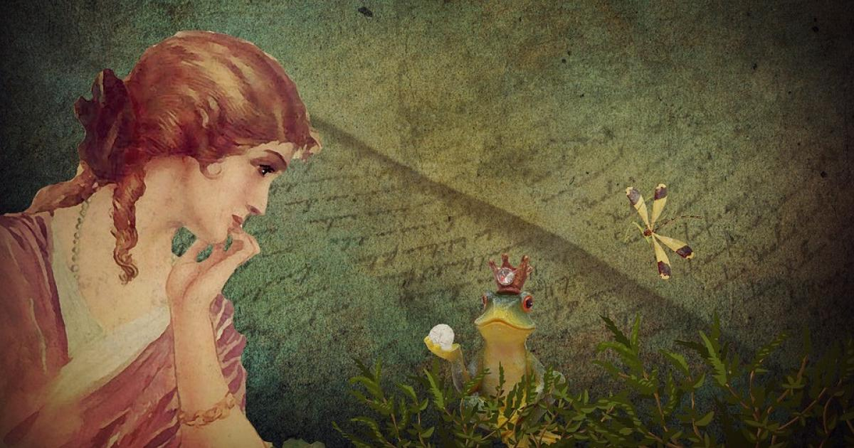 M. Σκαμπαρδώνη: Η πριγκίπισσα και ο βάτραχος (εικόνα Pixabay)