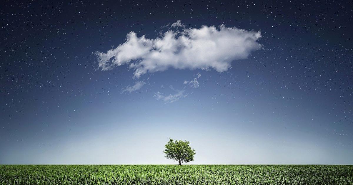 Παραμύθι: Το μοναχικό σύννεφο, της  Άννας Πατσώνη